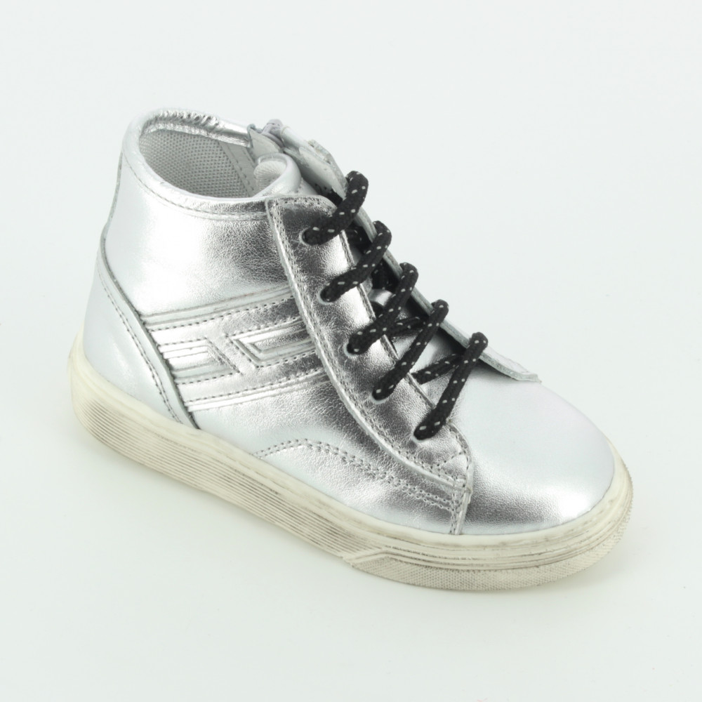 T3400 polacchino con cerniera - Ankle boots and hi-tops - Hogan - Bambi -  The shoes for your kids d02f61a2eb9