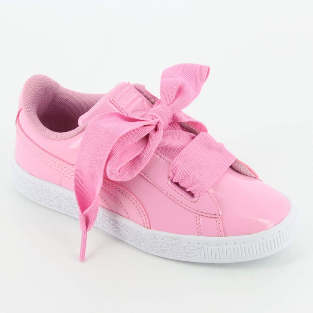 best sneakers 3b059 e0257 363352 Basket Heart Patent - Sneakers - PUMA
