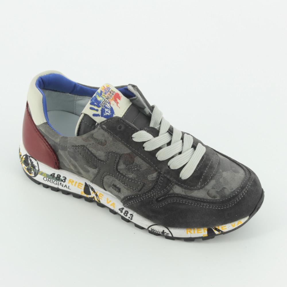 457ad99a3037 40910 sneaker bassa allacciata - Sneakers - Premiata - Bambi - The shoes  for your kids