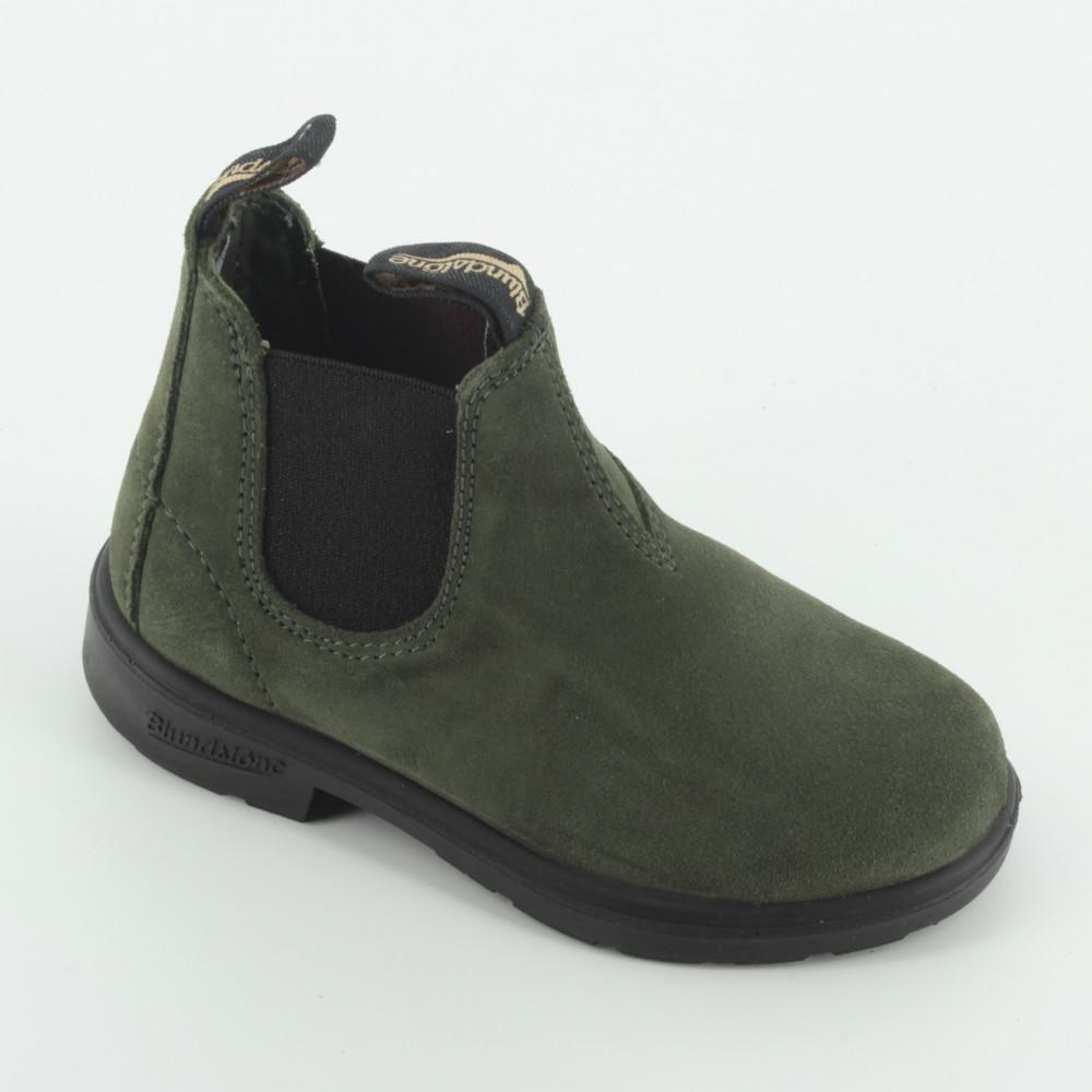 half off 3e2d9 fe6ae 0427 chelsea verdone suede - Scarponcini e scarpe alte - Blundstone