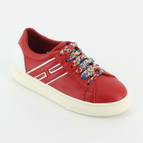 c242fa667c5dac Hogan - HXC3400K390 sneaker lacci colorati -.