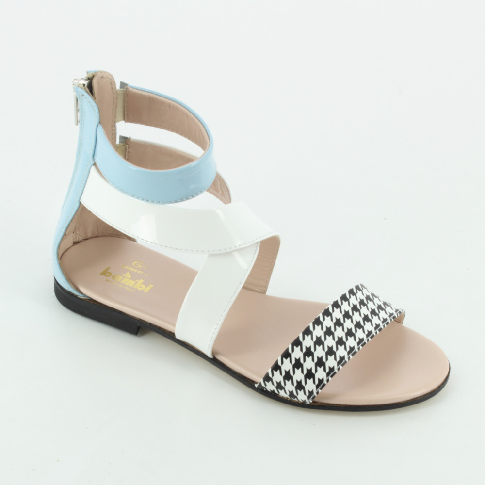 00242 sandalo frange Sandali Gallucci