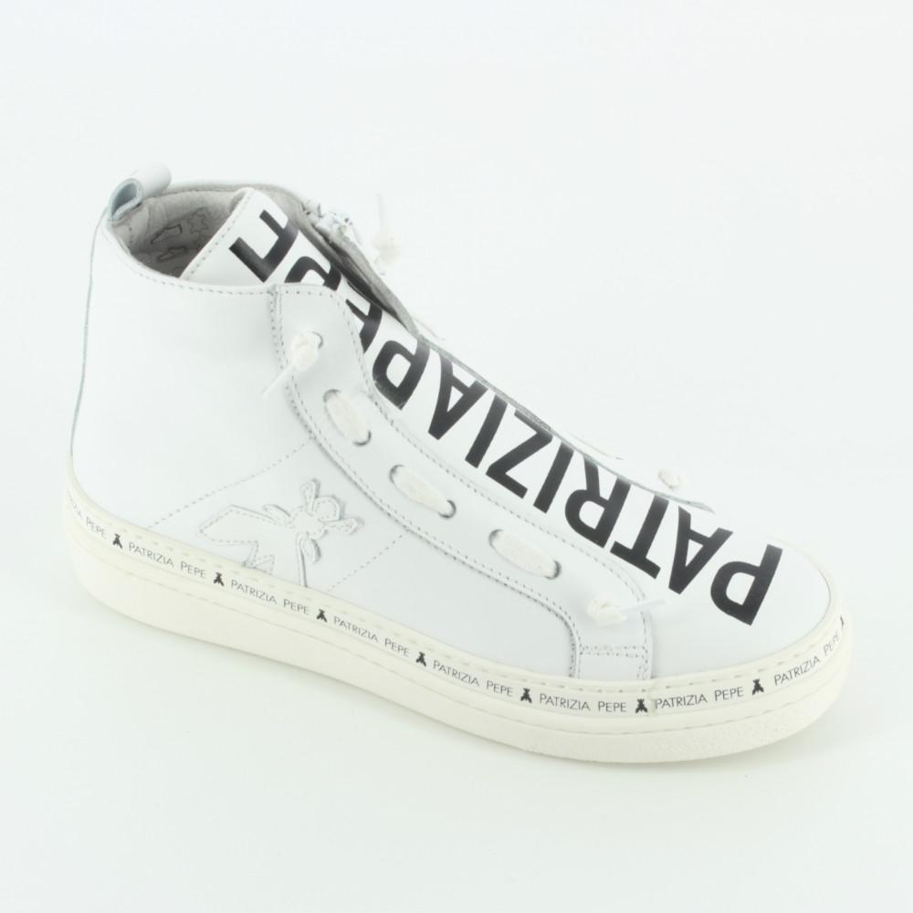 SC43 sneaker alta lacci - Ankle boots