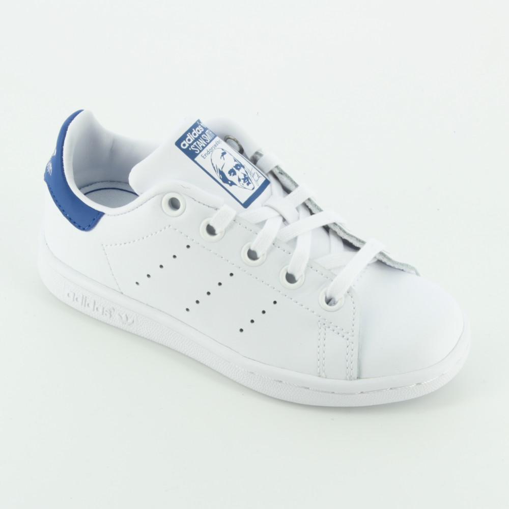 scarpe adidas stan smith blu bambini