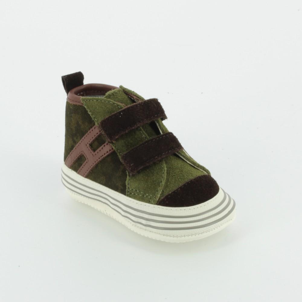 HXB0570I574 culla con doppio velcro - Neonato - Hogan - Bambi - Le scarpe  per bambini 8c1d6fa7fa1
