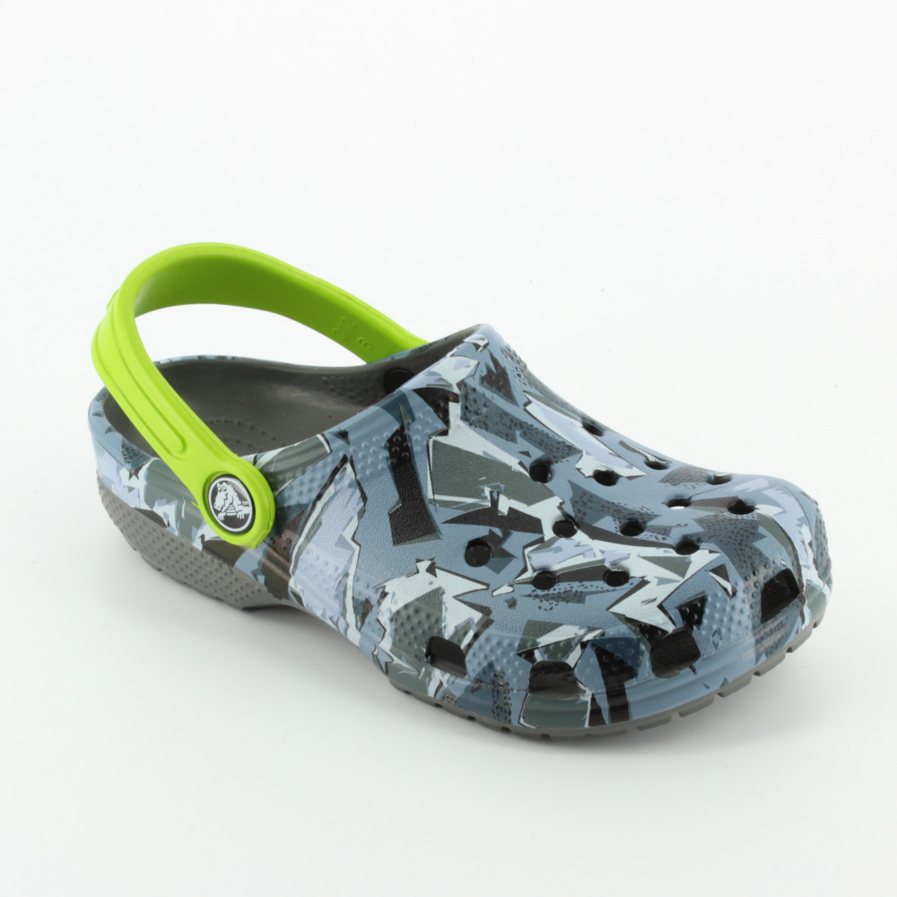 cdd59266c08d4 Classic Graphic Clog Kid (204816X 172) - Beach and pool - Crocs - Bambi -  The shoes for your kids