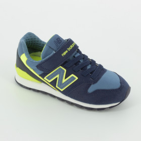 new balance juniors 996 tennis shoes pink and blue