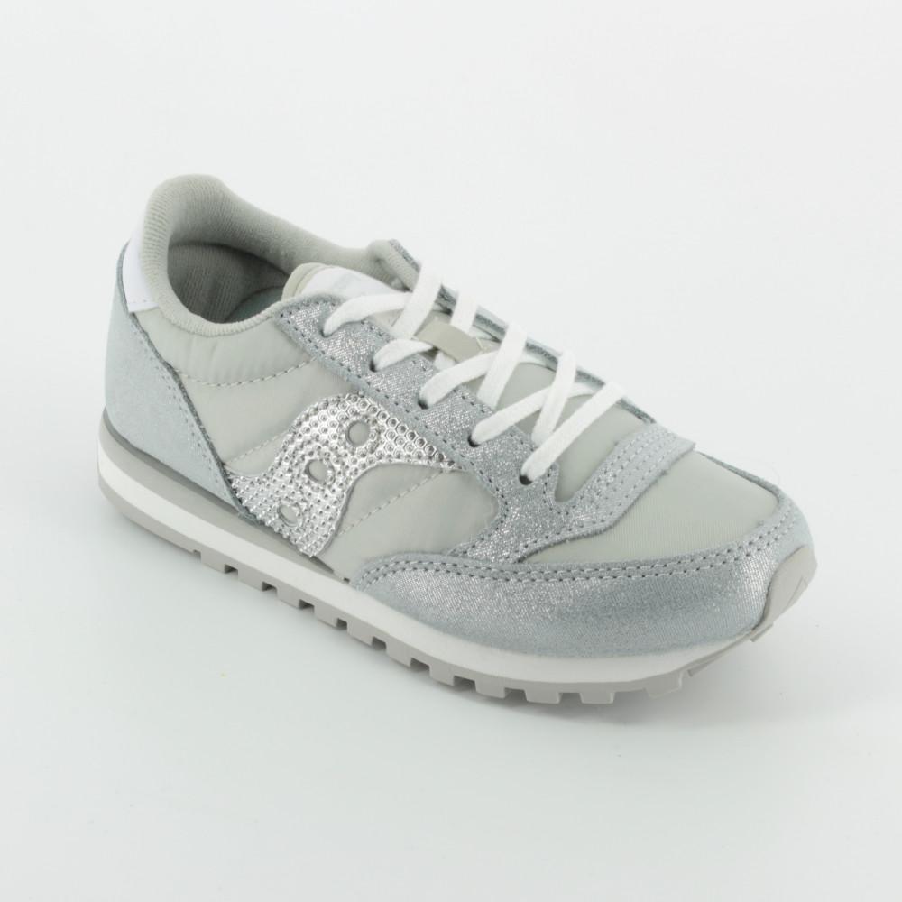 Le Argento Sneakers Per Jazz Bambini Lacci Saucony Bambi Scarpe 3Aj5RL4q