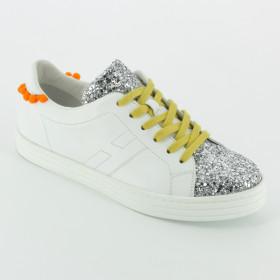 Hogan - J141 sneaker pon pon - BCO GIALLO ee962d4c2e7