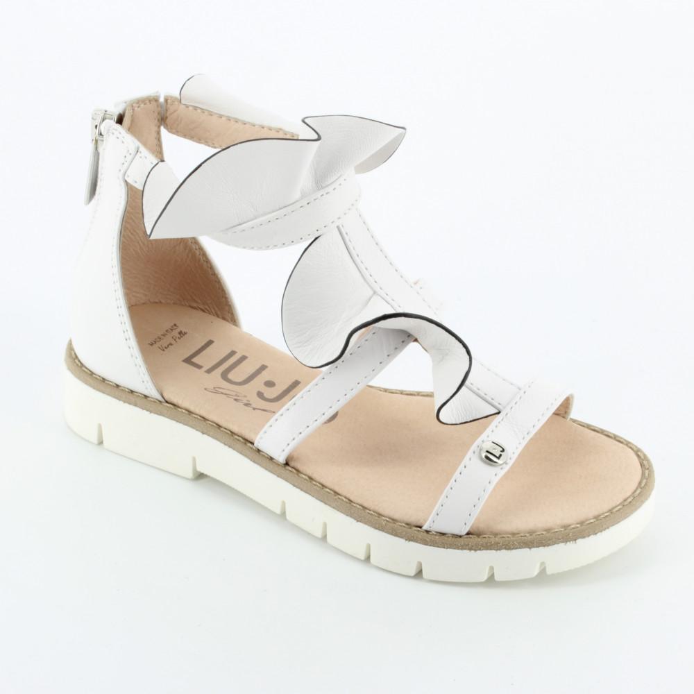 220 sandalo bianco balza - Sandali - Liu Jo - Bambi - Le scarpe per bambini 2addbf137bf